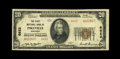 National Bank Notes:Kentucky, Pikeville, KY - $20 1929 Ty. 2 The First NB Ch. # 6622. Thisembossed $20 has the folds of an Extremely Fine note, b...