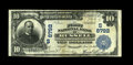 National Bank Notes:Kentucky, Russell, KY - $10 1902 Plain Back Fr. 626 The First NB Ch. #(S)8792. Three large notes are listed in the census from th...
