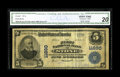 National Bank Notes:Kentucky, Stone, KY - $5 1902 Plain Back Fr. 607 The First NB Ch. # 11890. Avery scarce note from an institution bearing one of K...