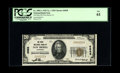 National Bank Notes:Louisiana, New Iberia, LA - $20 1929 Ty. 1 The State NB Ch. # 6858. Our 2004 Long Beach Signature Sale included a CU example from h...