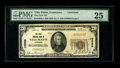 National Bank Notes:Louisiana, Ville Platte, LA - $20 1929 Ty. 1 The First NB Ch. # 10588. There are just five small notes in the census for this rare ...