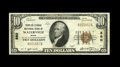 National Bank Notes:Maine, Waterville, ME - $10 1929 Ty. 1 The Peoples-Ticonic NB Ch. # 880.This Very Fine note bears the second of two titles...