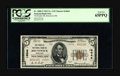 National Bank Notes:Maryland, Brunswick, MD - $5 1929 Ty. 2 The Peoples NB Ch. # 14044. A wellcentered note certified as PCGS Gen New 65PPQ and c...