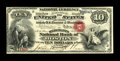 Boston, MA - $10 Original Fr. 409 The Merchants NB Ch. # 475 This note, part of the Stella Family collection, was origi...