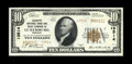 National Bank Notes:Missouri, Luxemburg, MO - $10 1929 Ty. 2 Lafayette NB & TC Ch. # 13514.This fresh and snappy Gem Crisp Uncirculated note is o...