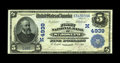 National Bank Notes:Missouri, Saint Joseph, MO - $5 1902 Date Back Fr. 597 The First NB Ch. #(M)4939. A fully crisp and exceptionally well embossed ...