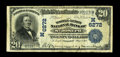 National Bank Notes:Missouri, Saint Joseph, MO - $20 1902 Date Back Fr. 642 The Tootle-Lemon NBCh. # (M)6272. This was the first title under which th...