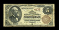 National Bank Notes:Missouri, Saint Louis, MO - $5 1882 Brown Back Fr. 474 The NB of Commerce Ch. # 4178. A Fine note likely carried as a wallet k...