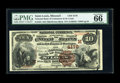National Bank Notes:Missouri, Saint Louis, MO - $10 1882 Brown Back Fr. 484 The NB of Commerce Ch. # (M)4178. A lovely example perfect for the ultimat...