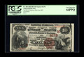 National Bank Notes:Missouri, Saint Louis, MO - $10 1882 Brown Back Fr. 484 The NB of CommerceCh. # (M)4178. A PCGS Very Choice New 64PPQ from a ...