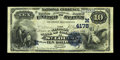 National Bank Notes:Missouri, Saint Louis, MO - $10 1882 Date Back Fr. 539 The NB of Commerce Ch.# (M)4178. A nice looking Extremely Fine $10 Sec...