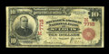 National Bank Notes:Missouri, Saint Louis, MO - $10 1902 Red Seal Fr. 613 The Mechanics-AmericanNB Ch. # (M)7715. A problem free $10 Red Seal with st...