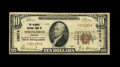 National Bank Notes:Missouri, Springfield, MO - $10 1929 Ty. 1 The McDaniel NB Ch. # 10074. AFine note from a family owned bank. This addition to...
