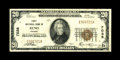 National Bank Notes:Nevada, Reno, NV - $20 1929 Ty. 1 First NB Ch. # 7038. While over 500 small notes are known from this bank (many in sheet form),...