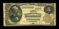 Hillsborough, NH - $5 1882 Brown Back Fr. 470 The First NB Ch. # 1688 A scarce and seldom offered bank in all types, wi...