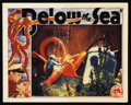 "Movie Posters:Adventure, Below the Sea (Columbia, 1933). Lobby Card (11"" X 14""). Adventure...."
