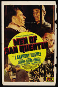 "Movie Posters:Crime, Men of San Quentin (PRC, 1942). One Sheet (27"" X 41""). Crime. ..."