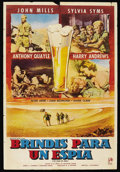 "Movie Posters:War, Ice Cold in Alex (Rank, 1958). Argentinean Poster (29"" X 43""). War...."