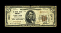 National Bank Notes:North Carolina, Asheville, NC - $5 1929 Ty. 1 The NB of Commerce Ch. # 12244. A Very Good example from a bank that issued small size...