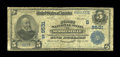National Bank Notes:North Carolina, Mooresville, NC - $5 1902 Plain Back Fr. 600 The First NB Ch. # (S)9531. Mooresville supported only this federally chart...