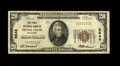 National Bank Notes:Oklahoma, Pryor Creek, OK - $20 1929 Ty. 1 The First NB Ch. # 5546. A just plain rare bank in large size, although somewhat more a...
