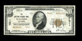 National Bank Notes:Oklahoma, Walters, OK - $10 1929 Ty. 2 The Walters NB Ch. # 7811. A very scarce Cotton County issuer that failed in 1934, leaving ...