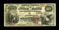 National Bank Notes:Pennsylvania, Allentown, PA - $10 1882 Brown Back Fr. 482 The Allentown NB Ch. #1322. This well margined Fine+ $10 Brown Back is ...