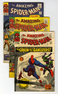 The Amazing Spider-Man #21-23 and 25 Group (Marvel, 1965).... (Total: 4 Comic Books)