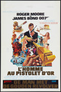 "Movie Posters:James Bond, The Man with the Golden Gun (United Artists, 1974 & R-1984).Belgian (14"" X 22"") & Lobby Cards (7)(11"" X 14""). James Bond..... (Total: 8 Items)"