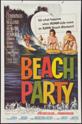 "Movie Posters:Comedy, Beach Party (American International, 1963). One Sheet (27"" X 41""). Comedy.. ..."