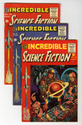 Golden Age (1938-1955):Science Fiction, Incredible Science Fiction #30-33 Group (EC, 1955-56).... (Total: 4Comic Books)