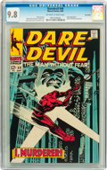 Silver Age (1956-1969):Superhero, Daredevil #44 Twin Cities pedigree (Marvel, 1968) CGC NM/MT 9.8 Off-white to white pages....