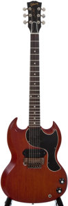 Musical Instruments:Electric Guitars, 1961 Gibson Les Paul Cherry Solid Body Electric Guitar, SerialNumber #26810....