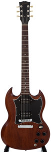 Musical Instruments:Electric Guitars, 2004 Gibson SG Walnut Solid Body Electric Guitar, Serial Number#01904674....