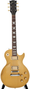 Musical Instruments:Electric Guitars, 1973 Gibson Les Paul Deluxe Goldtop Solid Body Electric Guitar,Serial Number #135045....