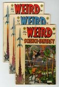 Golden Age (1938-1955):Science Fiction, Weird Science-Fantasy #23-25 Group (EC, 1954).... (Total: 3 ComicBooks)