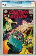 Silver Age (1956-1969):Superhero, Captain Action #2 Twin Cities pedigree (DC, 1968) CGC NM/MT 9.8 White pages....