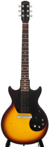 Musical Instruments:Electric Guitars, 1965 Gibson Melody Maker Sunburst Solid Body Electric Guitar,Serial Number #105437....