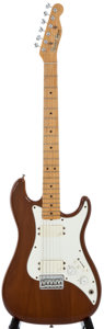 Musical Instruments:Electric Guitars, 1981 Fender Bullet Brown Solid Body Electric Guitar, Serial Number#E113389....