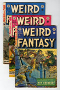 Golden Age (1938-1955):Science Fiction, Weird Fantasy #19-21 Group (EC, 1953).... (Total: 3 Comic Books)