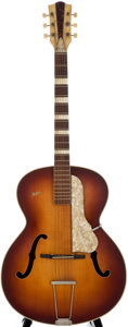 Musical Instruments:Acoustic Guitars, 1960's Hofner Sunburst Acoustic Guitar....