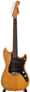 Musical Instruments:Electric Guitars, 1963 Fender Duo-Sonic Refinished Solid Body Electric Guitar, Serial Number #L16608....