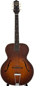 Musical Instruments:Acoustic Guitars, Circa 1940's Gretsch Sunburst Archtop Acoustic Guitar, Serial Number #2657....