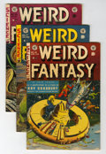 Golden Age (1938-1955):Science Fiction, Weird Fantasy #15-18 Group (EC, 1951-52).... (Total: 4 Comic Books)