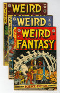 Golden Age (1938-1955):Science Fiction, Weird Fantasy Group (EC, 1950-53).... (Total: 4 Comic Books)