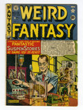 Golden Age (1938-1955):Science Fiction, Weird Fantasy #13 (#1) (EC, 1950) Condition: VG....