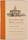Books:First Editions, Don H. Biggers. Shackelford County Sketches. Albany: ClearFork Press, 1974. First edition. Octavo. Publisher's bind...