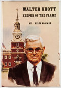 Books:First Editions, Helen Kooiman. SIGNED. Walter Knott: Keeper of the Flame.Fullerton: Plycon Press, [1973]. First edition, first prin...