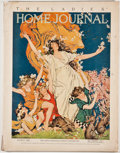 Books:First Editions, The Ladies Home Journal. Volume XXXVIII, Number 3.Philadelphia: Curtis Publishing, March, 1921. First edition.Quar...