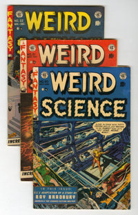 Weird Science #20-22 Group (EC, 1953).... (Total: 3 Comic Books)